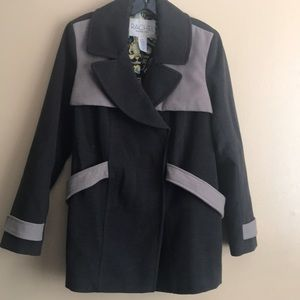 Rachel Roy  pea coat size Large